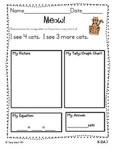 Common Core addition and subtraction word problem sheets