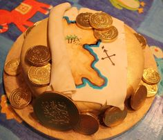 Looking for cake decorating project inspiration? Check out Pirate Cake by member Jen Benson.