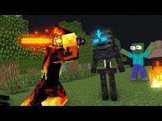 Monster School : Elements Bending - Minecraft Animation - YouTube Monster School, Optimus Prime, Bending, Easy Drawings, Art Boards, Transformers, Minecraft, Pokemon, Animation