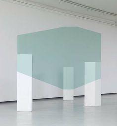 Illusion / installation by Igor Eskinja. via Apartment Therapy. #installation #geometry