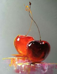 New Fruit Painting Acrylic Still Life Ideas Painting Still Life, Still Life Art, Love Painting, Painting & Drawing, Watercolor Paintings, Image Painting, Life Drawing, Painting Wallpaper, Painting Videos