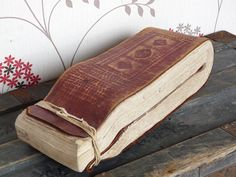 antique leather journal - Google Search