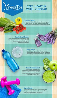5 easy ways to stay with vinegar Healthy Drinks, Healthy Tips, How To Stay Healthy, Healthy Food, Health And Beauty, Health And Wellness, Smoothie Diet, Smoothies, Candida Diet
