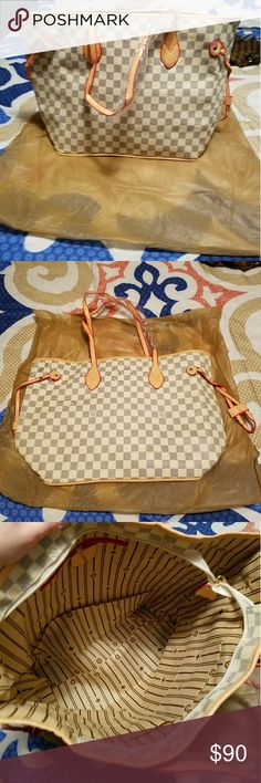 Large Fashion Handbag Brand new large handbag. The handles still have the protective paper on them and is new with tags. Measurements are shown. Comes with dustbag pictured. Authenticity reflects price. Bags