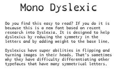how to make reading easier for dyslexics