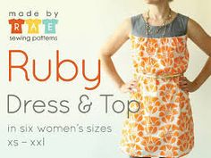 Made by Rae Ruby Dress | Dress Pattern