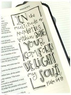 Love it! Bible Journaling!