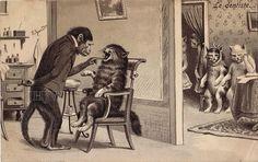 Кошки на открытках XIX века: s16_n425