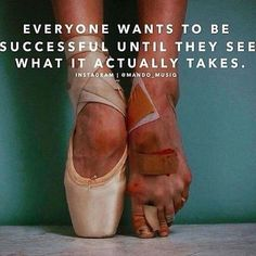 """Success Motivation: """"Everyone wants to be successful until they see what it actually takes. Great Quotes, Quotes To Live By, Me Quotes, Motivational Quotes, Inspirational Quotes, Poetry Quotes, The Words, Success Quotes, In This World"""