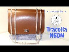 TUTORIAL: borsa Neon/ crochet bag/foderare una borsa***lafatatuttofare*** - YouTube