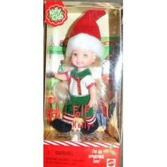 Barbie Kelly Club Christmas Elf Kelly doll ornament too Barbie Kids, Barbie Skipper, Christmas Barbie, Christmas Elf, Holiday, Barbie Kelly, Barbie And Ken, Barbie Celebrity, Sports Games For Kids