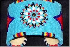 Richard Aitson. Cut bead cuff. Come see his work at the 2013 Santa Fe Indian Market! #nativeamerican #nativeamericanart