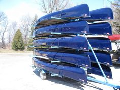 Info on canoe groups, boat dealers, water sport distributers