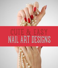 Want the best DIY nail designs and ideas? We have cool, cute, and simple nail design tutorials that you'll love! Don't miss out on awesome nail art ideas!