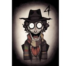 Doctor Who meets Tim Burton in sinister animation series | Illustration | Creative Bloq