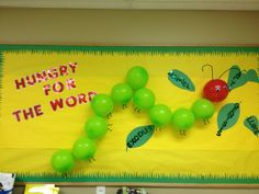 Hungry for Gods Word bulletin board by Callie Landers