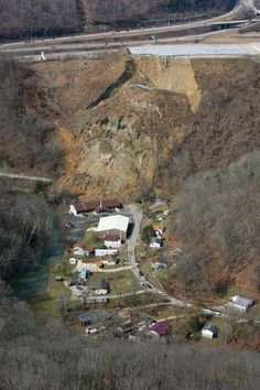 Yeager Airport landslide 3-15