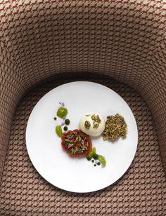 Les tomates et le buffle - Domaine des Etangs #gastronomie #france #tomates #tomato #buffalo