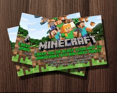 http://thepodomoro.com/collections/birthday-invitation/products/minecraft-birthday-invitation-design-inspired