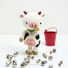 Mariella The Cow Amigurumi Pattern