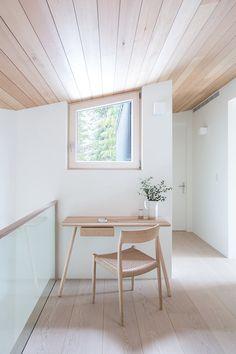Website - Sophie Burke Design Scandinavian Style, Scandinavian Office, Vancouver House, Built In Sofa, Luxury Office, Upstate New York, Nordic Design, Cabin Design, House Design