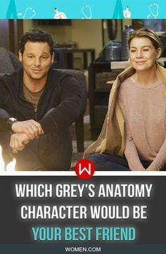 A quiz about different Grey's Anatomy doctors resulting in which one is most likely to be your best friend. Shonda Rhimes, Alex Karev, Justin Chambers, Ellen Pompeo, Meredith Grey.