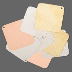(8) Tri-colored Stamping Blanks 40x40mm: http://www.outbid.com/auctions/17386-suzy-sez-everyone-is-a-winner#3