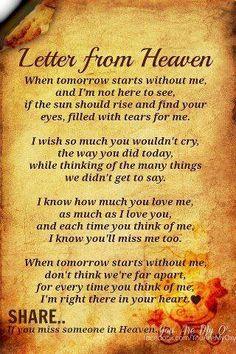 Letter Fom Heaven