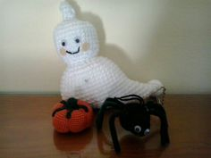 el kit de Halloween a crochet