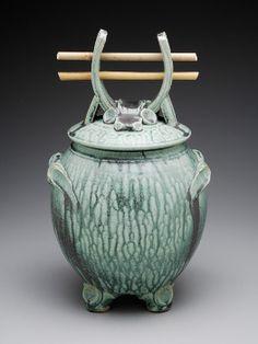 Ronin Jar (Green Bamboo)