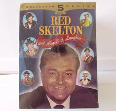 Red Skelton A Legend Of Laughter 5 VHS Collector Series Box Set. Public Pigeon King of Laughter. Lost Episodes, Star Wars Episodes, Movies For Sale, Red Skelton, Ad Libs, The Shawshank Redemption, Vhs Movie, Vhs Tapes, I Love Lucy