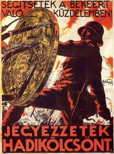 Illustrations And Posters, Vintage Posters, Retro Posters, World War, Wwii, Cool Pictures, Movie Posters, Hungary, Austria