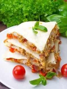 Quesadilla, Mozzarella, Sandwiches, Tacos, Mexican, Ethnic Recipes, Food, Quesadillas, Essen