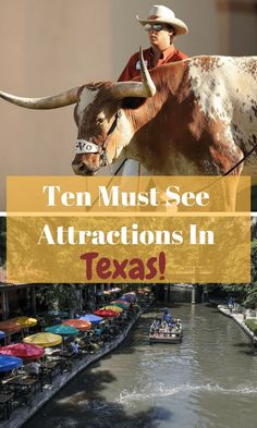10 Must See Attractions in Texas Ten Must See Texas Attractions Texas Vacation Spots, Family Vacations In Texas, Best Vacations, Cruise Vacation, Texas Roadtrip, Texas Travel, Texas Bucket List, Texas Swimming Holes, Down South