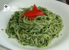 Ispanaklı Spaghetti Tarifi nasıl yapılır? Ispanaklı Spaghetti Tarifi malzemeleri, aşama aşama nasıl hazırlayacağınızın resimli anlatımı ve deneyenlerin yorumlarıyla burada