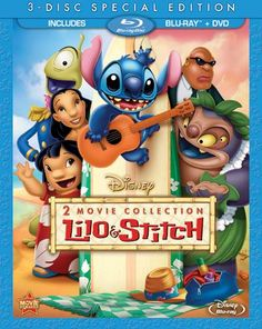 Lilo & Stitch is now available to own for the first time on Blu-ray Combo Pack!