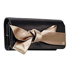 f9f93cb938d Evening Chanel Clutch Bag With Bow Bow Clutch