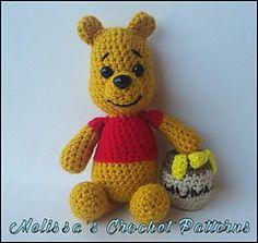 Pooh Bear - Free Crochet / Amigurumi Pattern #crochet #amigurumi #free #raverly