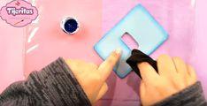 Cubre interruptor de goma eva con forma de león - Manualidades en Goma Eva y Foami Fur Slides, Gisele, Jelly Beans, Shapes, Manualidades, Unicorn