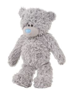 Tatty Teddy, the little grey bear with the blue nose from the UK. <3 Now at RRP https://www.facebook.com/riverroadpharmacyandgifts