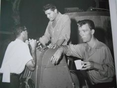 """""""Follow That Dream""""  Elvis with his cousin ,  Gene Smith.(R)"""