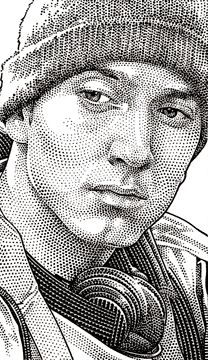 Wall Street Journal Hedcuts on Behance