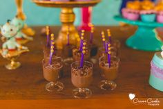 Dessert cups from a Princess Jasmine Birthday Party via Kara's Party Ideas KarasPartyIdeas.com (53)