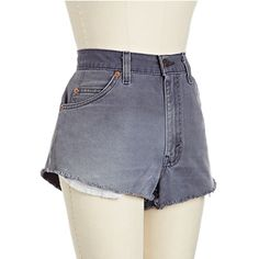 Perfect Levis Redline Cutoffs, $125
