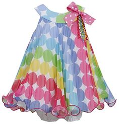 Bonnie Jean Girls Polka Dot Birthday Party Dress, 3-6M Bonnie Baby http://www.amazon.com/dp/B00SI6X51O/ref=cm_sw_r_pi_dp_xBedvb1RVH5JV