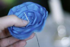 silk flower tutorial