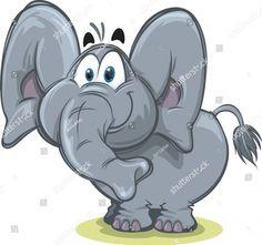 Unicorn Cupcakes Toppers, Watercolor Sketchbook, Cute Elephant, Cute Animal Drawings, Drawing Techniques, Stone Art, Elephants, Cartoon Characters, Cute Art