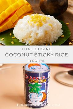 The BEST Thai Coconut Sticky Rice - Dessert Recipe#Coconut #Dessert #Recipe #rice #Sticky #Thai Sticky Rice Dessert Recipe, Coconut Sticky Rice, Sticky Rice Recipes, Thai Coconut, Rice Desserts, Dessert Recipes, Potluck Recipes, Thai Recipes, Delicious Recipes