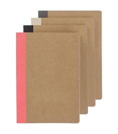 4-pack A5 notebooks - HEMA