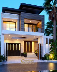 30 best modern dream house exterior designs you will amazed 9 Modern Exterior House Designs, Modern Small House Design, Small House Exteriors, Small Modern Home, Minimalist House Design, Dream House Exterior, Modern Architecture House, Exterior Design, 2 Storey House Design